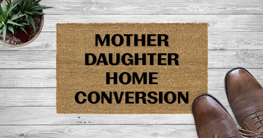 Mother Daughter Home Conversion for Seniors